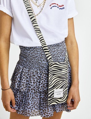 Davey. Falda animal print