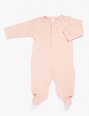 Pijama algodon pima plumeti rose