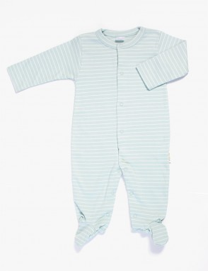 Pijama algodon pima raya aqua
