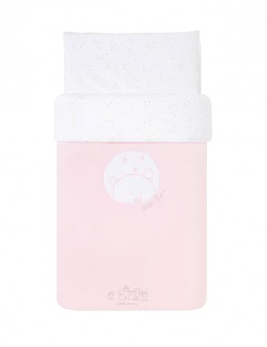 Funda nordica 60 Bear rosa