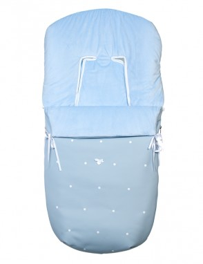 Saco silla CUIR azulina
