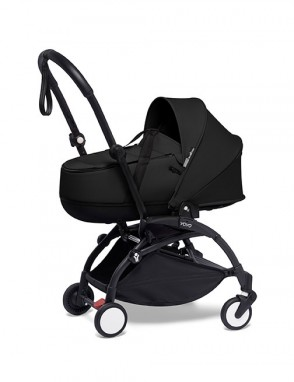 Yoyo 0+ Bassinet black. Capazo