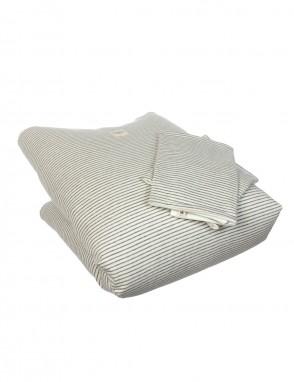 Nordico minicuna grey stripes