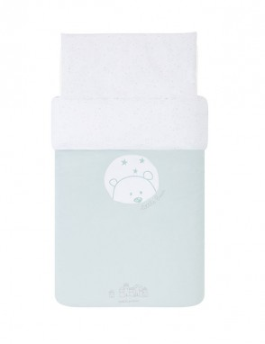 Funda nordica Bear Mint