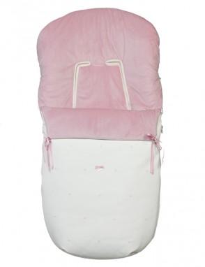 Saco silla PBP rosa empolvado